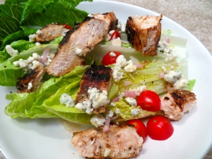 Blackened Chicken Salad Blue Cheese Dressing