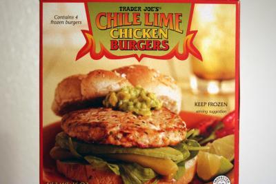 Trader Joes chili lime burgers